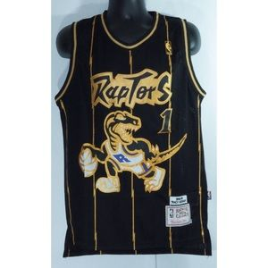 Toronto Raptors Tracy Mcgrady  Black Jersey M